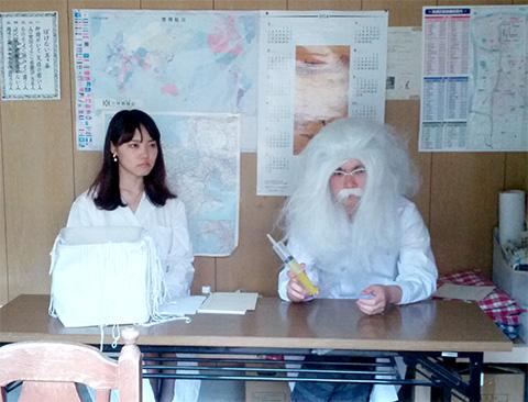 モテモテ人体実験 博士と助手